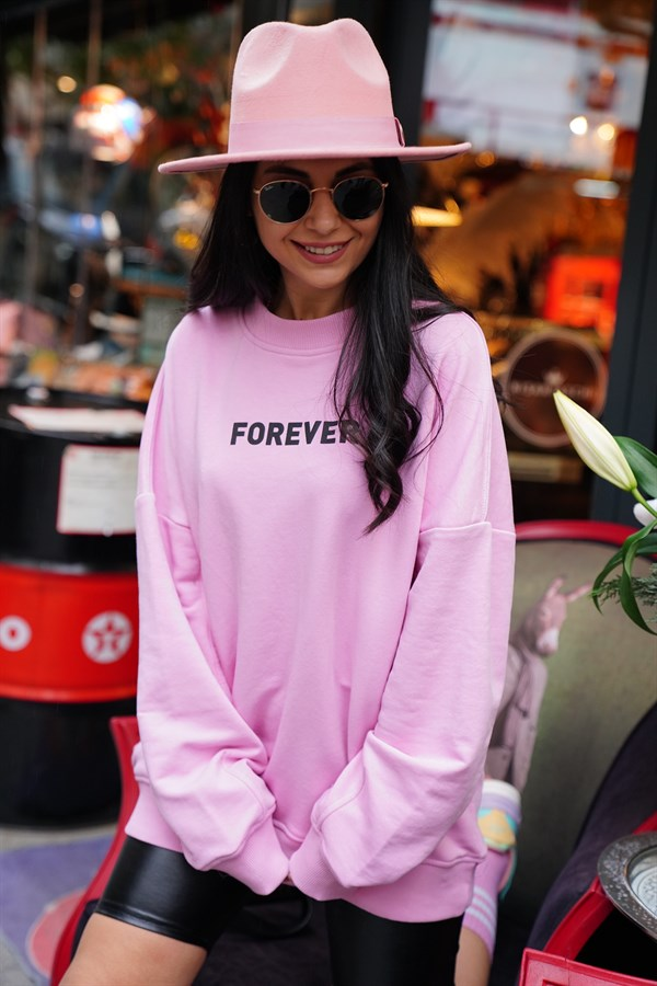 Pembe Forover Sweat