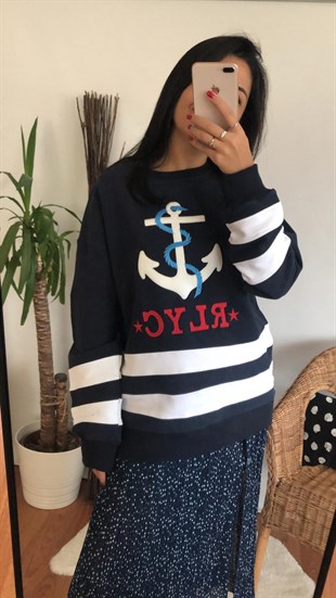 Lacivert Rlyc Sweat