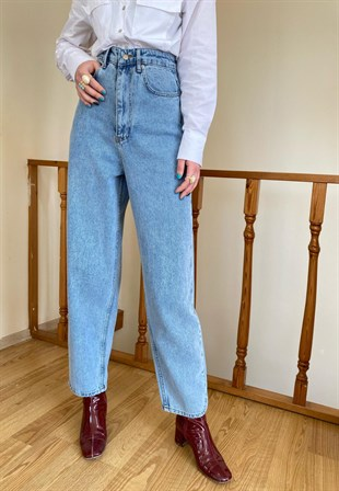 Vintage Slim High Mavi Mom Jeans